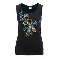 Life's Brilliant Puzzles - Fair Trade Autism Awareness 100% Cotton Tank