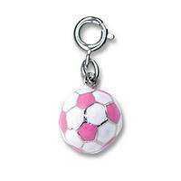 Sporty Femininity   - 3-Dimensional CHARM IT! Pink Soccer Ball