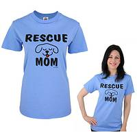 Special Love - Rescue Mom T-Shirt Featuring Adorable Puppy