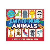 Little Artist's Animal Kingdom - Easy to Draw Animals Step-by-Step Sketchbook for Children