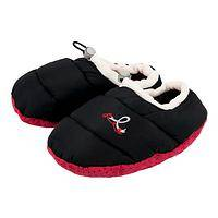 Quilted Comfort - Diabetes Awareness Cushioned Slippers With No-Slip Soles