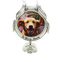 Man's Best Friend - Steel Garden Pet Dog Memorial Stake