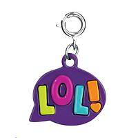 Love Laughter - CHARM IT!� Brightly Enameled LOL! Charm