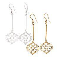 Delhi Drop Earrings - Earrings with Indian Flair