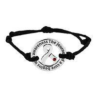 Journey of Awareness - Diabetes Journey of Awareness Adjustable Pewter Bracelet