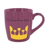 Queenly Crown  - Good To Be Queen Porcelain Mug