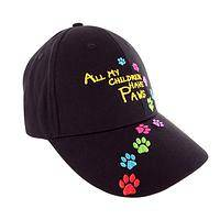 Lovin' Our Fur-Babies - All My Children Have Paws Brighly Embroidered Baseball Cap