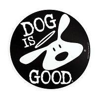 Angelic Pooch  - Dog is Good UV Treated Vinyl Car Magnet