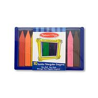 Rainbow Makers - 10 Melissa and Doug Jumbo Triangular Crayons