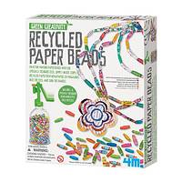 Up-Cycled Artistry - Recycled Paper Beads Green Creativity Paper Art Jewelry Kit