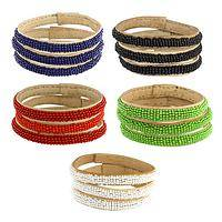 Beaded Beauty - Tiny beaded bracelets in beautiful colors