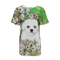Loving Eyes - Silky Fitted Puppy T-Shirt