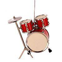 A Christmas Rhythm - Drum Kit Christmas Ornament