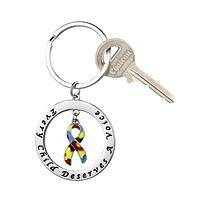 A Voice of Promise - Autism Awareness Key Chain