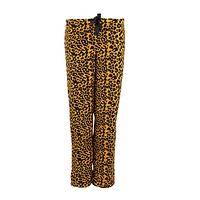 Jersey Girl - Women's Plush Leopard Print Drawstring Pants