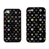 Loving Companions - iPhone Case Adorned With Colorful Paws And Hearts