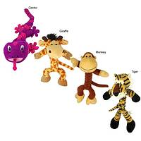 Wild Animal Friends - KONG� Braidz Fun Animal Dog Toy