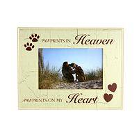Lifelong Memories - Pet Picture Frame Celebrating Pawprints In Heaven