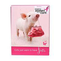 Pretty In Pink - Charming Piglet-About-Town Note Pads