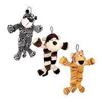 Jungle Playmates - Grriggles� Safari Squeaktacular Dog Toy With 12 Squeakers