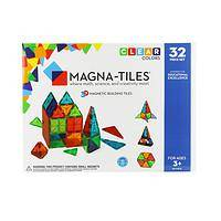 Building Their Dreams - Magna-Tiles Vibrant 32-Piece Inventive Building Play Set