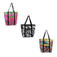 Fiesta Style - Fair Trade Palomas Oilcloth Tote Bag