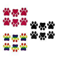 Magnetic Paws - Set of Six Flexible Magnetic Paw Prints