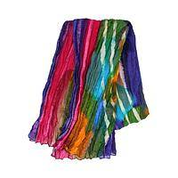Lively Lights - Brightly colored cotton scarf supporting the less fortunate