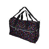 Colorful Prints - Rainbow Paw Print Patterned Duffle Bag