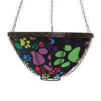 How Does Your Garden Grow? - Rainbow Paws Collapsible Nylon Hanging Garden Basket