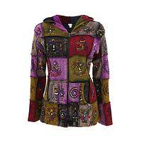 The Spirit of Nepal - Nepalese Patchwork Jacket - 100% fair trade cotton