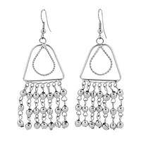 Jingle Jangle Dangle - Handmade silver plated chandelier dangle earrings