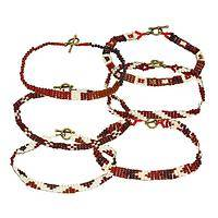 Beaded Splendor - Haitian Beaded Geometric Bracelets Build Empowerment