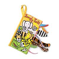 Jungly Tails Book - Fabric Baby Book - Jungly Tails