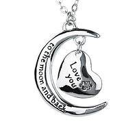 Boundless Love - I Love You To The Moon And Back Autism Support Necklace