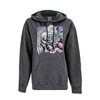 Mighty Wings of US - Cotton/Poly Patriotic Eagle Hooded Unisex Sweatshirt