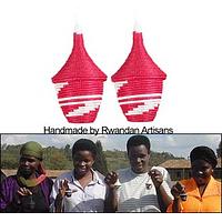 Basket of Peace - Handwoven Rwandan Peace Basket Holiday Ornament