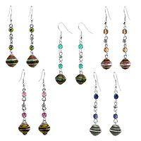 Preserving Wildlife - Glass & Recycled Magazine Bead Earrings Help Animals