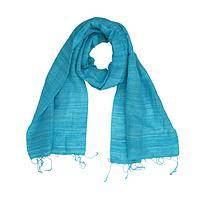 Blown Blue Beauty - Handmade 100% Silk Beautiful Scarf By Craft Beauty