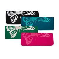 Flight of Fancy - Fashionable Clutch Featuring Butterfly Motif