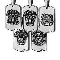 St. Michael Dog Tag - Christian Dog Tag for US Military Service Members