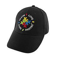 The Big Picture - Autism Awareness Embroidered Cotton Baseball Cap
