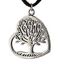 Love Grows - Pewter Pendant Necklace from Thailand