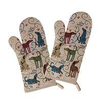 Bow Wow Bakers - WonderFunder: Darling Dogs Oven Mitt Pair