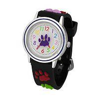 Paws Around The Clock - Paws Galore䋢 Watch With Silicone Band