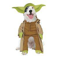 Furry Master - Pet Costume Depicting Yoda From Star Wars