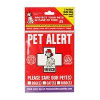 Dynamic Pet Protector - Pet Protection Notice Window Clings