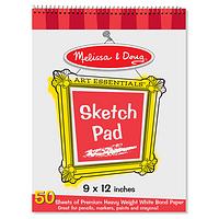 Melissa And Doug Sketcher Pad - A Premium Designer Quality Paper Sketch Pad