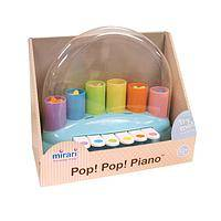 Piano Popper - Engage the future pianist with this playful piano baby toy