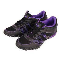 Dynamic Paw Prints - Purple Paw Shoes Keep Up with Your Active Life